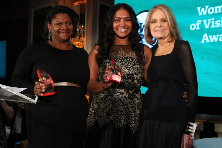 CD Steinem Ms Foundation Award